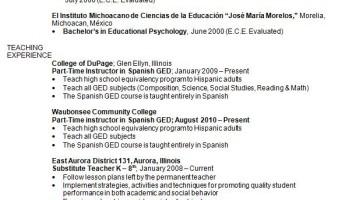 Curriculum Vitae Luz Garfias